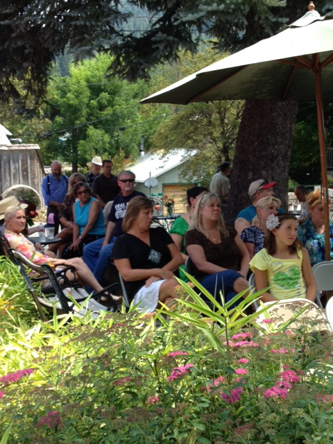 Family, friends and co-workers honor Tim Beal's for his 40 years of service to the citizens of Sierra County